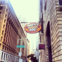 Photo taken at What's Up Dog? by Michele O. on 11/28/2012