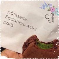 11/8/2013 tarihinde erinaziyaretçi tarafından Pâtisserie Sadaharu AOKI Paris'de çekilen fotoğraf