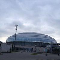 Das Foto wurde bei Дворец спорта «Динамо» von Gulechka N. am 6/22/2013 aufgenommen