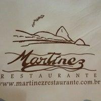 Photo taken at Martinez Restaurante by Robson A. on 2/22/2013