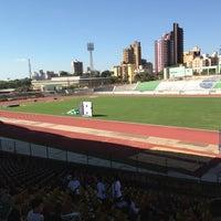 Photo taken at Estádio Willie Davids by Rafael G. on 4/20/2013