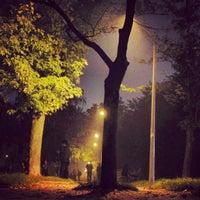 Снимок сделан в Русанівський парк пользователем Olena M. 10/20/2012