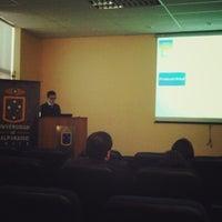 Photo taken at Facultad de Farmacia UV by Gustavo J. on 8/5/2013