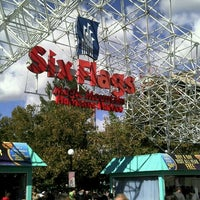 Photo taken at Six Flags Magic Mountain by Marcio A. on 11/10/2012