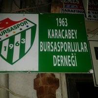 Photo taken at Karacabey Bursasporlular Derneği by Tarık T. on 12/7/2013