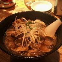 Photo taken at 麻布麺房 どらいち by Takayuki M. on 1/2/2013