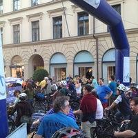 Photo taken at 4. Münchner Radlnacht by M. M. on 6/8/2013