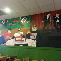 Photo taken at Kennedy's Chicago Pizza by Christina G. on 6/2/2013