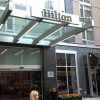 Photo taken at Hilton New York Fashion District by Jack K. on 10/1/2012