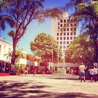 Photo taken at Colégio Batista Santos Dumont by Bruno S. on 10/7/2012