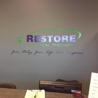 Photo taken at Restore Physical Therapy by Restore Physical Therapy on 11/1/2016
