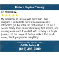 Photo taken at Restore Physical Therapy by Restore Physical Therapy on 8/14/2017