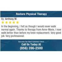 Photo taken at Restore Physical Therapy by Restore Physical Therapy on 7/20/2017