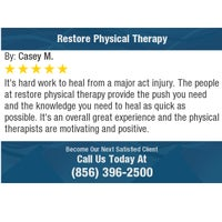 Photo taken at Restore Physical Therapy by Restore Physical Therapy on 7/25/2017