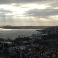 Photo taken at Conrad Istanbul Bosphorus by Alessandro on 12/30/2012