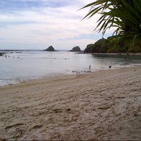 Photo taken at Seger Beach by mona m. on 3/31/2013