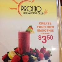 Photo taken at Proino Breakfast Club by Debbie B. on 7/16/2014