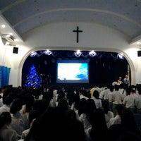 Photo taken at Perguruan Kristen Methodist 2 Medan by Junazevics B. on 12/18/2013