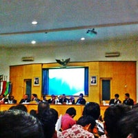 Photo taken at Universitas Muhammadiyah Purwokerto (UMP) by Firza F. on 4/26/2014