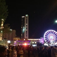 Photo taken at Centennial Olympic Park by Sean P. on 4/6/2013