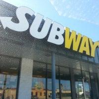 Photo taken at SUBWAY by Craig B. on 9/30/2012