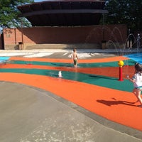 Photo taken at Rolling Meadows Pool by Jeffrey K. on 6/15/2013