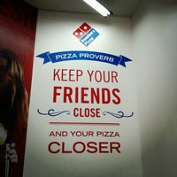Photo taken at Domino's Pizza Centenario by Christian T. on 2/10/2013