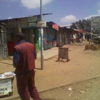 Photo taken at Langata Uchumi Stage by Lihla S. on 10/7/2012