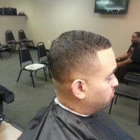 Photo taken at 1st Impressions Barber And Beauty Shop by chris s. on 4/2/2013