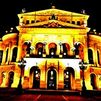 Photo taken at Alte Oper by Michael T. on 1/10/2013