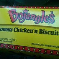 Photo taken at Bojangles' Famous Chicken 'n Biscuits by mason g. on 3/27/2013