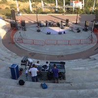 Photo taken at Ανοιχτο Θεατρο Πολυγυρου by Stavros D. on 8/9/2013
