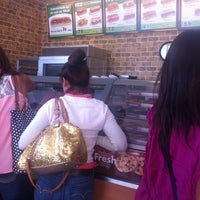 Photo taken at Subway Suc. Colon by Damian M. on 11/3/2013