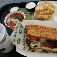 Photo taken at Quiznos Plaza Mayor by Francisco H. on 2/9/2015