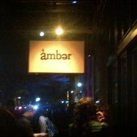 Photo taken at Amber by Bryan W. on 12/8/2012