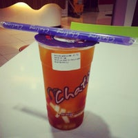 Photo taken at Chatime by Gianyta A. on 3/14/2014