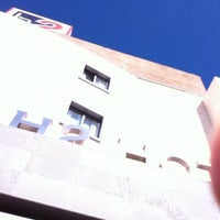 Photo taken at H2 Hotel Elche by Karlos A. on 4/6/2014