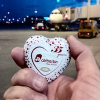 Photo taken at airberlin Flight AB 6187 by Frank S. on 6/24/2014