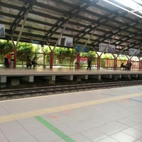 Photo taken at KTM Line - Mid Valley Station (KB01) by niza m. on 2/21/2013