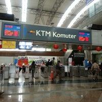 Photo taken at KTM Komuter KL Sentral (KA01) Station by niza m. on 2/8/2013