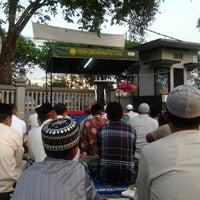 Photo taken at Masjid An-Nur SMAMDA - UMSIDA by Arief R. on 8/7/2013