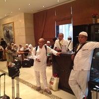 Photo taken at Al Safwah Royale Orchid Mekkah by elham r. on 10/30/2012