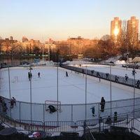 Photo taken at Lasker Pool & Ice Rink by Jose M. on 2/14/2013