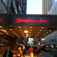 Photo taken at Hampton Inn Manhattan - Times Square North by Jose M. on 2/14/2013