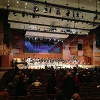 Photo taken at Koncertna dvorana Vatroslava Lisinskog by Aldy S. on 2/28/2013