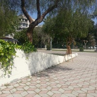 Photo taken at bostanli sanat parkı Galeri by UTKAN A. on 4/4/2014