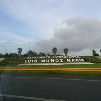 Photo taken at Luis Muñoz Marín International Airport (SJU) by Melanie C. on 7/8/2013
