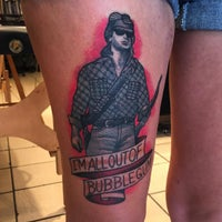 Photo taken at Let It Bleed Tattoo by Dannyboy on 9/1/2015