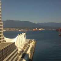 Photo taken at The Fairmont Waterfront by James P. on 10/3/2012