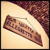 Photo taken at Trattoria Marchegiana by Fabrizio F. on 1/16/2013